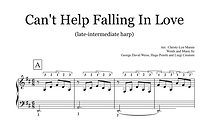 Can't Help Falling in Love Late Intermed