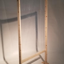 Pine Partition Screen