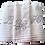 Thumbnail: Conjunto Monaco : 2 toalhas de banho e 1 e rosto
