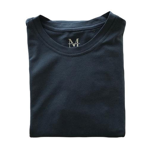 Camiseta Signature - Azul marinho
