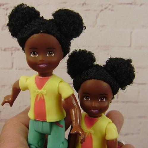 Mini-bonequinhas BAP - Duas unidades