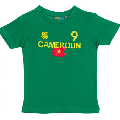 Camiseta Camarões