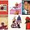 Thumbnail: 50 adesivos diversos