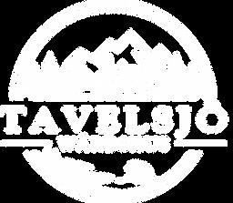 Tavelsjö Wärdshus - logo - vit - vintage
