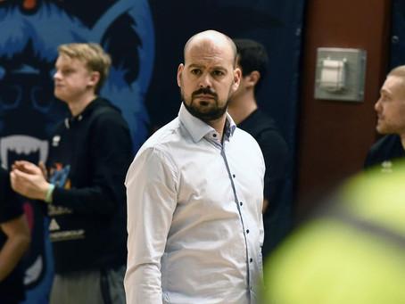 Coach Boris Balibrea på plats i Umeå idag!