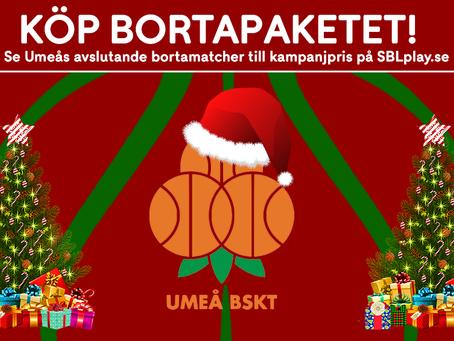 Bortapaketet på SBLplay.se – Den perfekta julklappen!