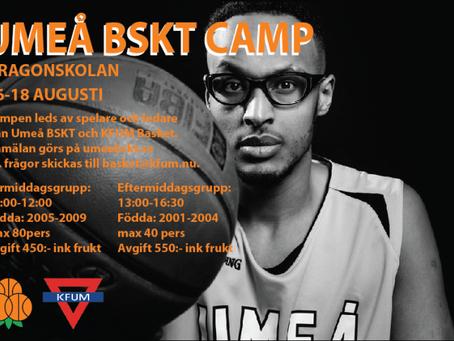 Umeå BSKT Camp 2017