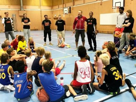 Selbergs basketball camp 2019
