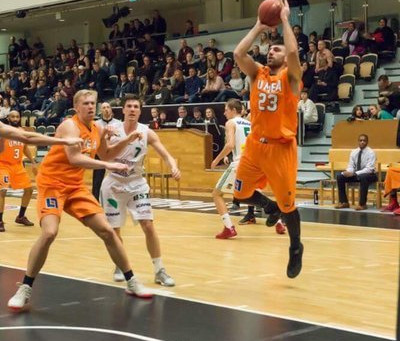 Kvartsfinal 1 mot Södertälje