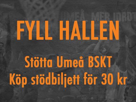 Var med och stötta Umeå BSKT
