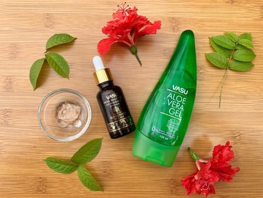 Vasu Healthcare - Aloe Vera Gel & Facial Beauty Oil