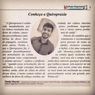 Reportagem do Jornal Enfoque Empresarial de Regente Feijó. Março de 2019