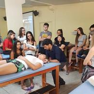 Palestra sobre Quiropraxia feita para alunos de Fisioterapia da Unesp de Presidente Prudente
