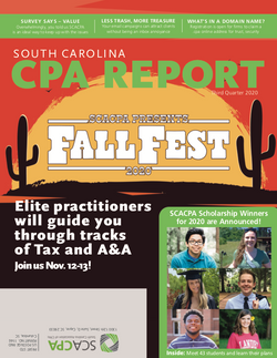 South Carolina Association of CPAs Q3 2020 Magazine
