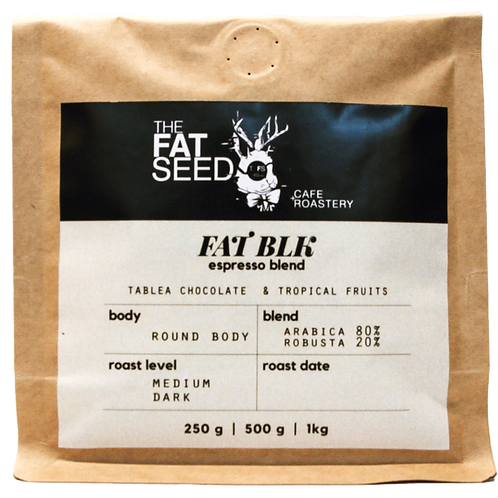 The Fat Black Espresso Blend