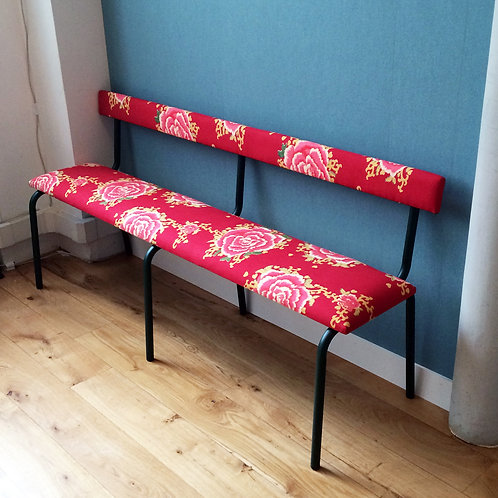 BANC MY LITTLE ROUGE 1,60cm de long