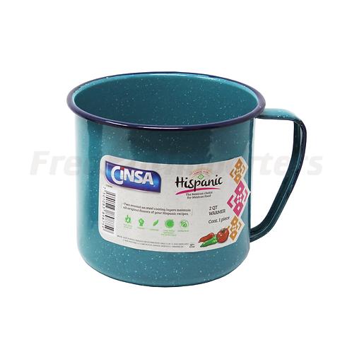2Qt Warmer/Mug Turquoise Blue
