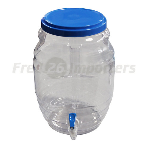3 Gallon Vitrolero with Spout, Lid & Handle