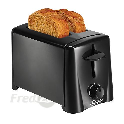Proctor Silex 2 Slice Toaster, Black
