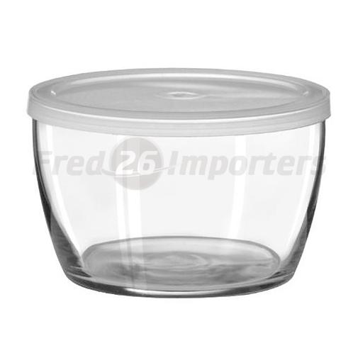 Libbey 16oz. Bowl w/ Plastic Lid