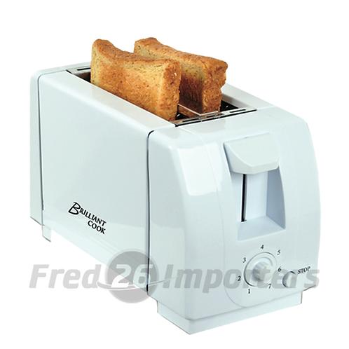 Brilliant Cook 2 Slice Toaster