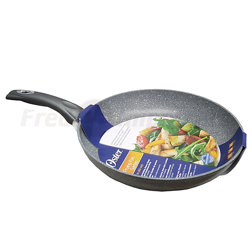 """Oster Macolino Forged 12"""" Aluminum Fry Pan"""