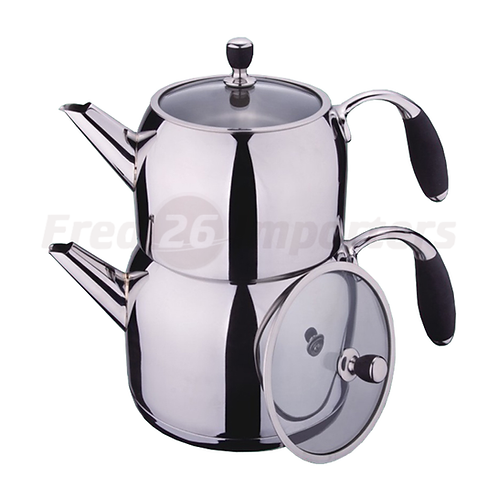 Double Teapot (Silicone Handle)