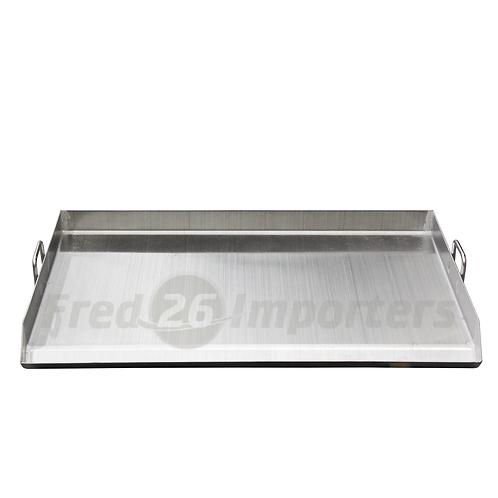 Stainless Steel Fry Pan 90*56*8CM (Triple Plancha)