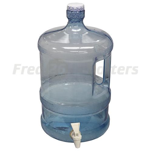 3 Gallon Water Bottle with Spout, Blue