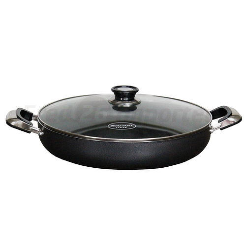 "Brilliant Cook 16"" Low Pot (Shrinkwrapped)"