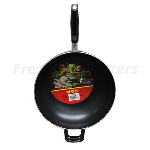 "Brilliant Cook 12"" (30cm) Wok Pan"
