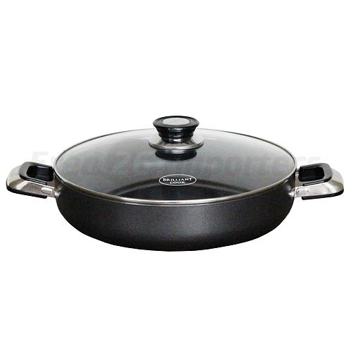 "Brilliant Cook 12"" Low Pot"