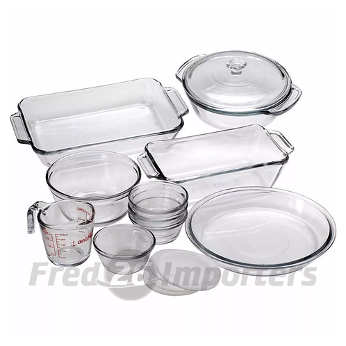 Anchor Hocking 15Pc Bake Set