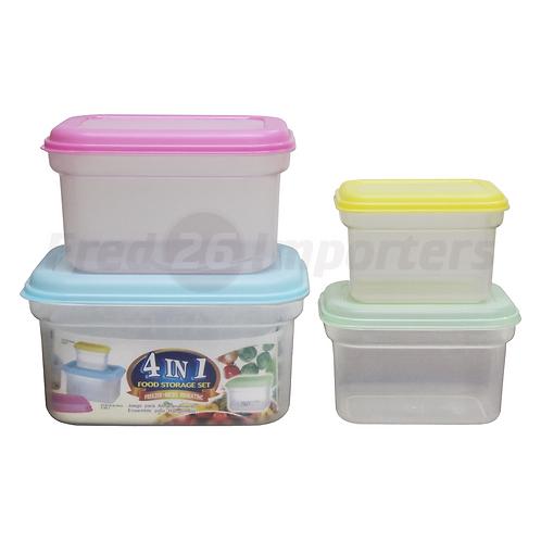 4-in-1 Food Storage Set