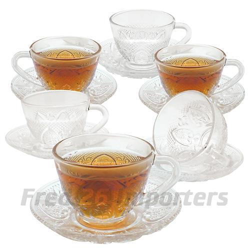 Ronneli 12 Pc. Tuscany Tea Set