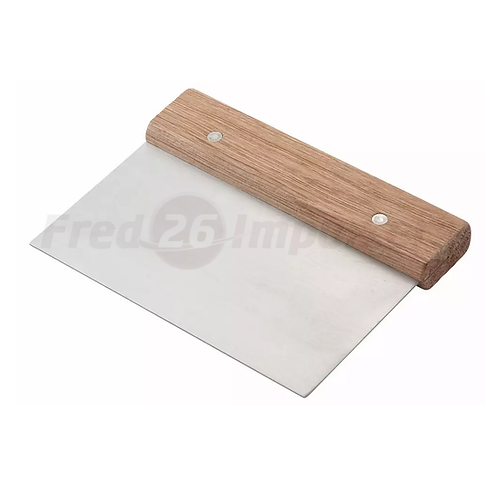 Dough Scraper, Wooden Handle