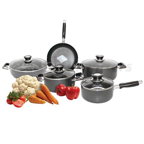 Brilliant Cook 9Pc. Cookware Set