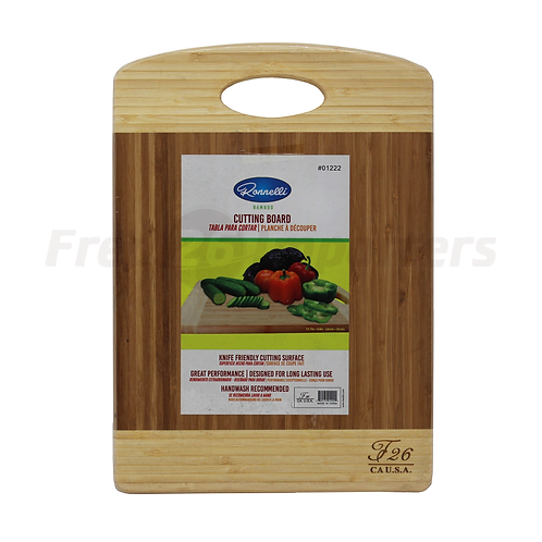 "Bamboo Cutting Board 13.7"" x 9.8"""