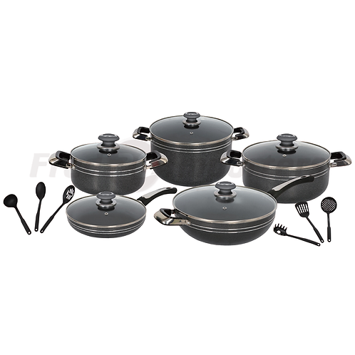 Brilliant Cook 16Pc. Cookware Set