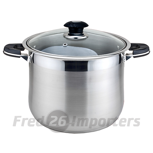 10Qt Stainless Steel Stock Pot