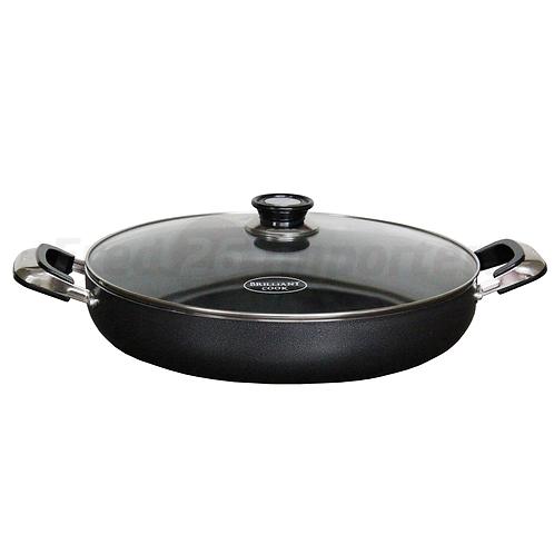 """Brilliant Cook 16"""" Low Pot"""