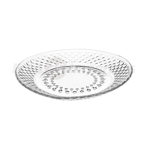 "Libbey Montclair 7.5"" Glass Salad Plate"