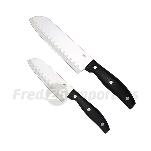 Oster Granger 2-Piece Santoku Knife Set