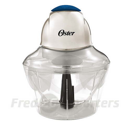 Oster Accentuate Top Chop 4-Cup Chopper, Blue