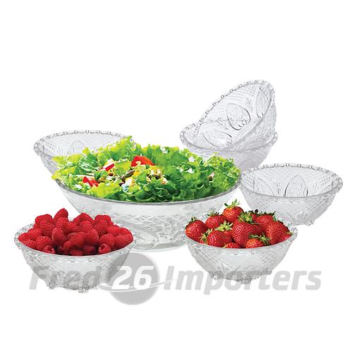 Ronnelli 7 Pc Salad Bowl Set