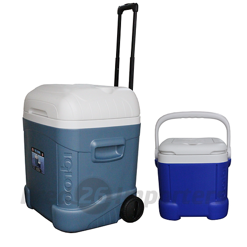 Igloo 70Qt Maxcold Roller w/ Ice Cube 14 Cooler Combo