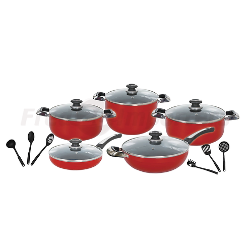 Brilliant Cook 16Pc. Cookware Set