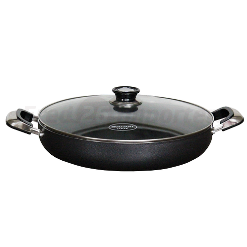 "Brilliant Cook 14"" Low Pot (Shrinkwrapped)"
