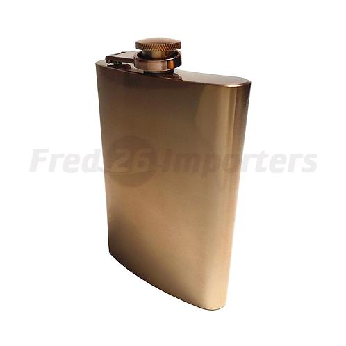 Luminarc BarCraft 8oz Copper Flask