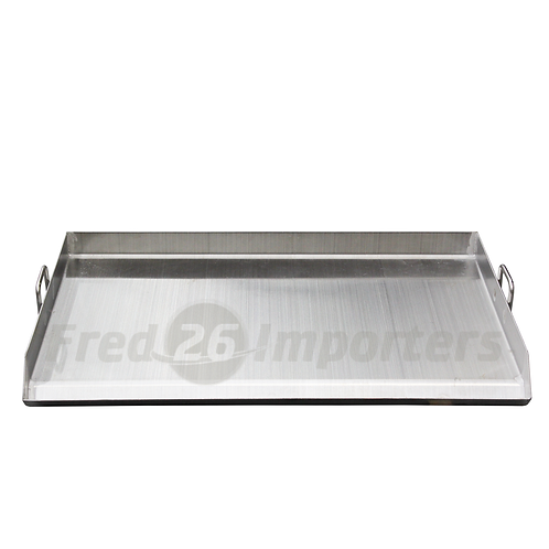 Stainless Steel Fry Pan 80*44*6CM (double-plancha)